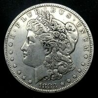 1883-P MORGAN SILVER DOLLAR  COIN.  3.9