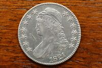 1821 SILVER CAPPED BUST HALF DOLLAR