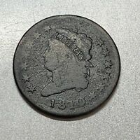 1810 CLASSIC HEAD LARGE CENT  AFFORDABLE KEY DATE
