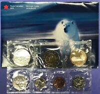 1999 UNCIRUCULATED CANADA PROOF LIKE MINT SET WITH ORIGINAL