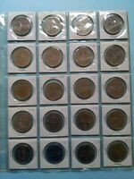 LOT OF 20 CANADIAN NICKEL DOLLAR  $1  NO RESERVE   LOT 24