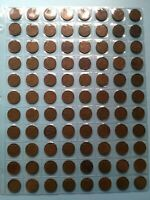 LOT OF 88 CANADIAN 1943 SMALL PENNY CIRCULATED NO RESERVE