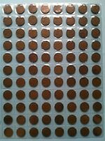 LOT OF 88 CANADIAN 1945 SMALL PENNY CIRCULATED NO RESERVE