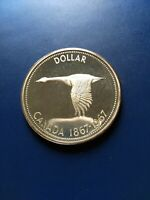 1967 CANADIAN SILVER DOLLAR  $1  NO RESERVE