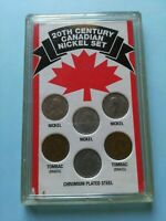 20TH CENTURY CDN NICKEL SET 1994 SSCA PRODUCT NO RESERVE