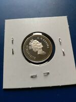 1997 UNC PROOF CANADIAN SILVER 5C NO RESERVE