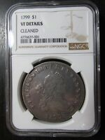 1799 $1 GRADED VF DETAILS BY NGC