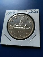 1956 CANADIAN SILVER DOLLAR  $1  NO RESERVE