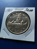 1954 CANADIAN SILVER DOLLAR  $1  NO RESERVE