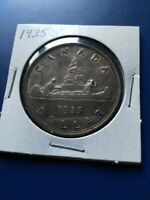 1935 CANADIAN SILVER DOLLAR  $1  NO RESERVE