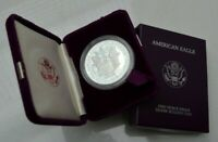 USA AMERICA 1987 S PROOF AMERICAN SILVER $1 EAGLE DOLLAR COIN  NICE