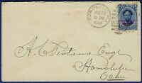 R638 HAWAII 58 LOCAL USE COVER   AUG 1893   TONING