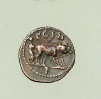 MYSIA PARIUM. COMMODUS  15MM FOUNDER PLOWING WITH TWO OXEN