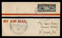 DR WHO 1926 CHICAGO IL FIRST FLIGHT AIR MAIL C203549