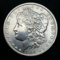 1900-P  MORGAN SILVER DOLLAR - CHOICE GEM UNCIRCULATED- HIGH GRADE COIN.9