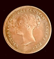 1859 GREAT BRITAIN QUEEN VICTORIA YOUNG HEAD 4D FOUR PENCE.9