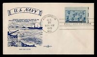 DR WHO 1945 ANNAPOLIS MD NAVY FDC C191833