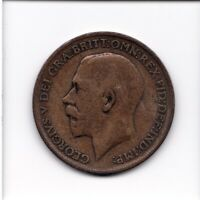 GREAT BRITAIN COIN ONE   1   PENNY 1911 GEORGE V BRONZE 30.8