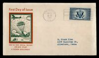 DR WHO 1934 FDC 16C SPECIAL DELIVERY AIRMAIL CACHET  F33912