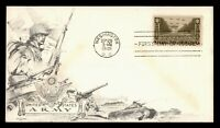 DR WHO 1945 FDC ARMY MILITARY OWRY WWII PATRIOTIC CACHET 934
