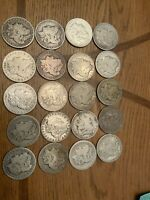 1880 S MORGAN SILVER DOLLAR ROLL OF 20