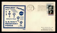 DR WHO 1965 USS WASP NAVY SHIP GEMINI 7 NASA SPACE RECOVERY