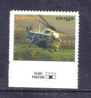 US STAMPS   4145   USED    $16.25  MARINE ONE ISSUE   CV $30
