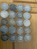 1899 O MORGAN SILVER DOLLAR WORN ROLL OF 20