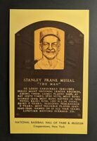 1969 BASEBALL HALL OF FAME PLAQUE STANLEY FRANK MUSIAL FDC P