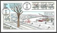 2129/29A 1920'S TOW TRUCK COLLINS FDC
