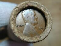 ONE  FRB DENVER LINCOLN WHEAT CENT PENNY ROLL 1914D & 1927D