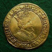 1615 16 JAMES I DOUBLE CROWN GREAT BRITAIN HAMMERED GOLD