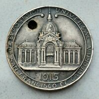 OLD 1915 ARGENTINA SILVERED SAN FRANCISCO USA EXPOSITION MEDAL  NICE