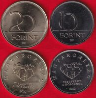 HUNGARY SET OF 2 COINS: 10   20 FORINT 2020