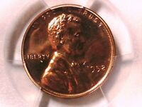 1952 P LINCOLN WHEAT CENT PCGS PR 64 RD 39818443