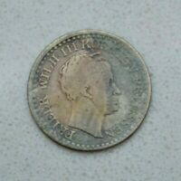 OLD 1821 A GERMAN STATES GERMANY PRUSSIA SILVER GROSCHEN 30ET COIN NICE
