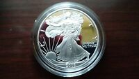 2003 SILVER EAGLE 1OZ PROOF DOLLAR WEST POINT MINT
