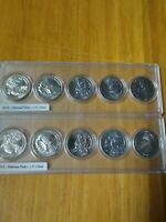 2012 NATIONAL PARKS P AND D COMPLETE UNCIRCULATED SETS OF 10