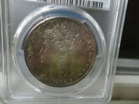 TONED 1892-S MORGAN $  PCGS EXTRA FINE 45  SILVER  CIRCULATED BUSINESS CERTIFIED