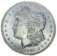 1904-O $1 BU MORGAN SILVER DOLLAR NEW ORLEANS MINT