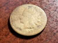 1868 INDIAN HEAD CENT, TOUGH EARLY SEMI KEY DATE      INV09      P914