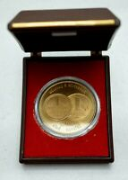 1990 WEST GERMANY GERMAN REUNIFICATION  OFFICIAL MINT MEDAL NICE