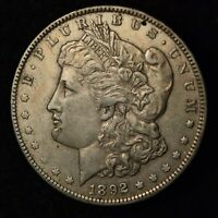 1892-O $1 MORGAN SILVER DOLLAR NEW ORLEANS MINT US TYPE COIN