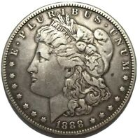 1888-O MORGAN DOLLAR FINE VAM-4 HOT LIPS DOUBLED DIE TOP-100 EXTRA FINE  DETAILS