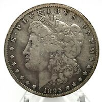1895-S MORGAN SILVER DOLLAR - KEY DATE  SCARES