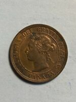 VERY NICE LUSTER 1899 CANADA LARGE ONE CENT CANADIAN PENNY C
