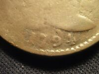 1794 FLOWING HAIR LARGE CENT     BOLD DATE