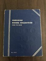 CANADIAN NICKEL COLLECTION WHITMAN FOLDER 45 COINS 1922  196
