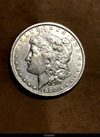 EARLY 1900-O MORGAN SILVER DOLLAR - 90 US COIN