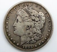DATE 1895 S  MORGAN DOLLAR   VF